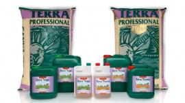 CANNA TERRA nutrients and potting mixes